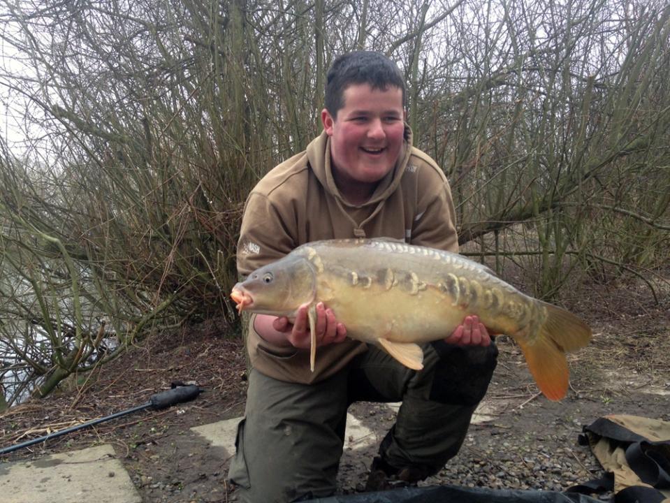 March 2014 catch: 15lb 4oz