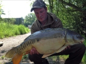 June catch 22lb mirror