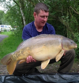 June catch 25lb mirror