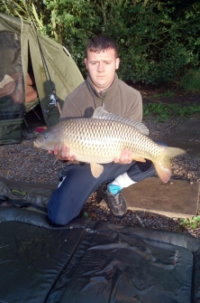 August catch 20lb 2oz common