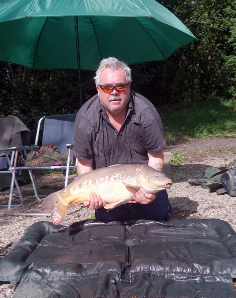 August catch 22lb 3oz