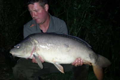 August catch 22lb mirror