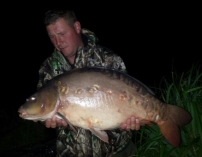 August catch 26lb mirror